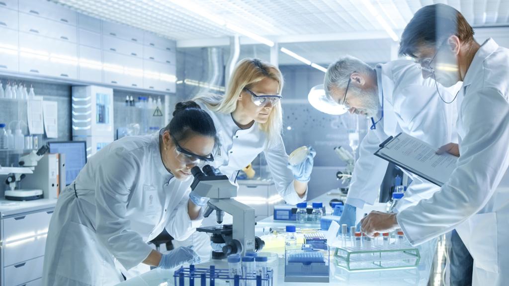 Immagine laboratorio di ricerca